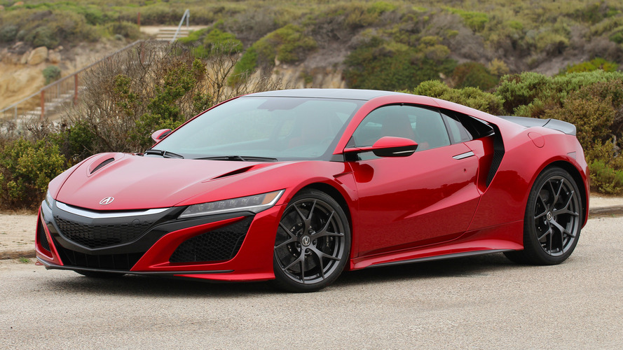 Second Drive: 2017 Acura NSX