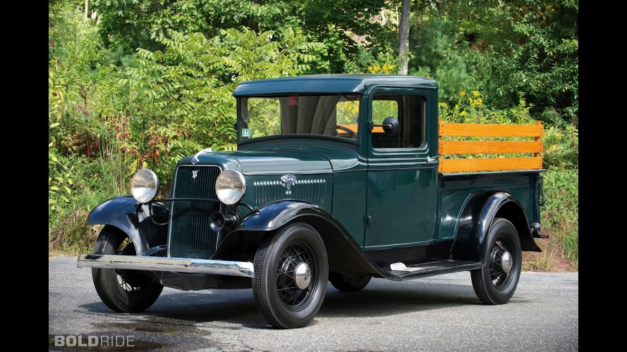 Ford V8 Closed Cab Pickup Truck