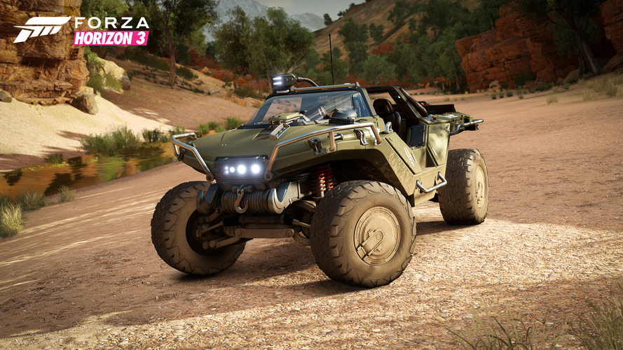 Forza Horizon 3 goes sci-fi by adding Halo's Warthog