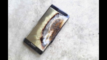 Samsung Galaxy Note 7, gli incidenti 007