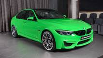 BMW M3 Verde Mantis Green