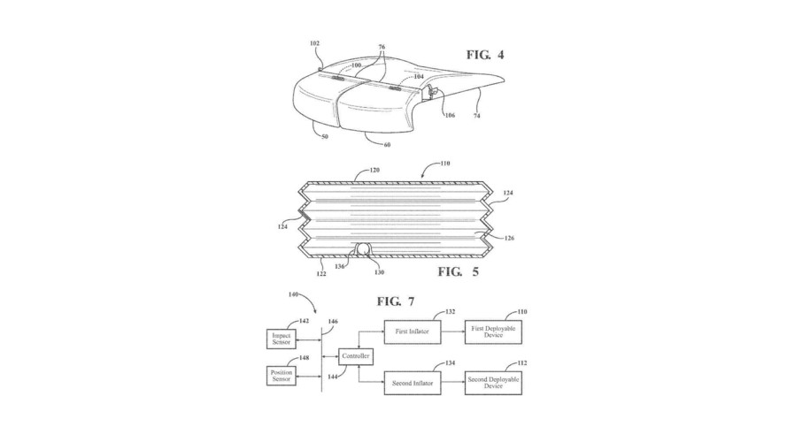 Ford Active Thigh Support Patent