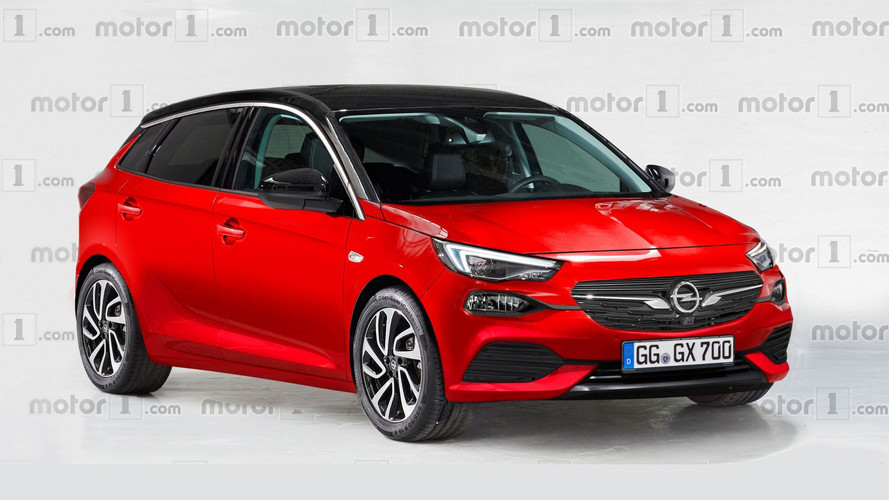 2019 Opel Corsa Render Illustrates A More Stylish Design Approach