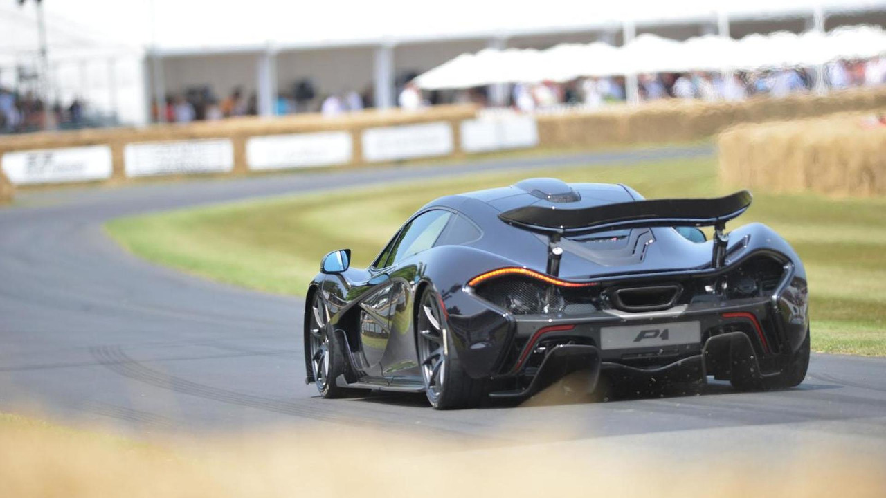 McLaren P1 at Goodwood 15.7.2013