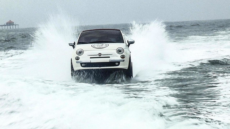 Fiat introduces three 500-inspired boats in California