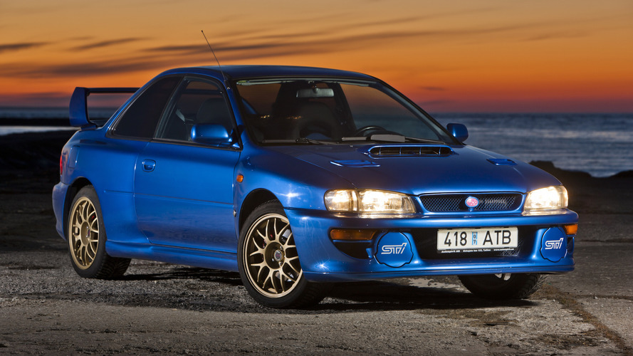 1998 Subaru Impreza 22B STi Auction
