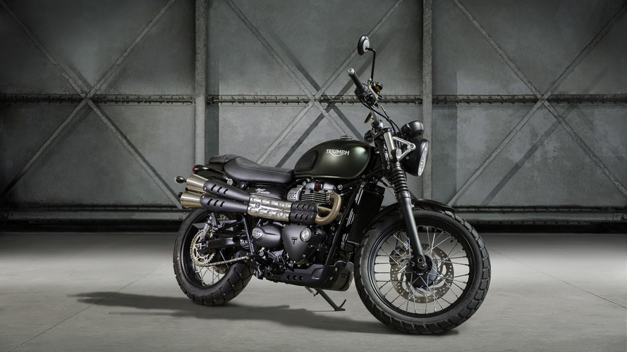 Triumph sweetens the Street Scrambler