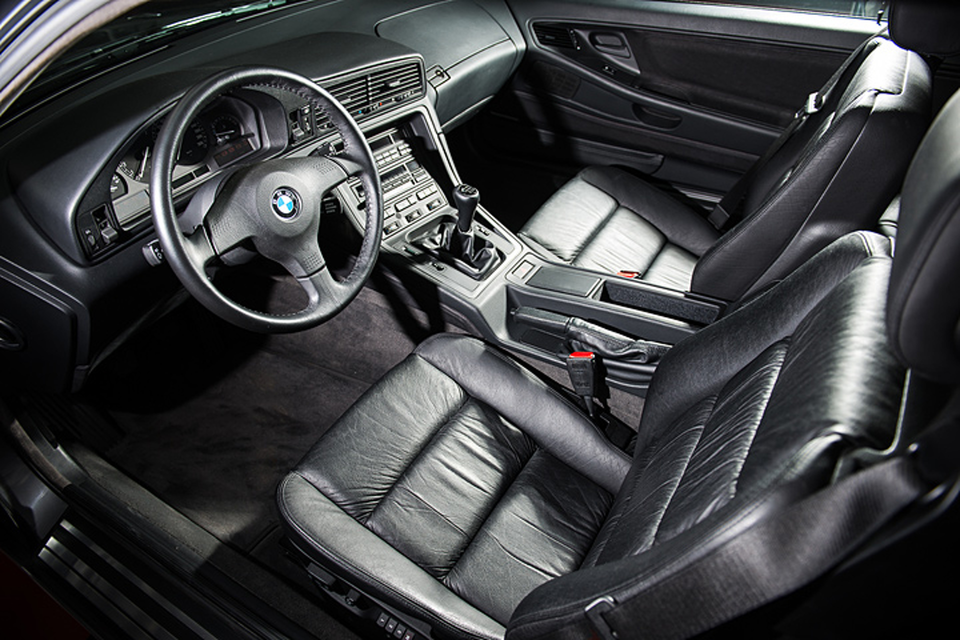 This is Essentially a Brand New 1991 BMW 850i Sports Car