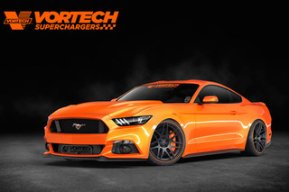 Supercharged SEMA Mustang Puts Out Gobs of Power
