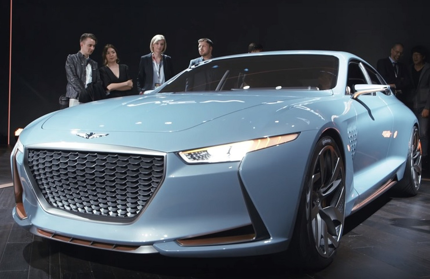 Genesis Has the Luxury Market Dead In Its Sights With Sporty New York Concept