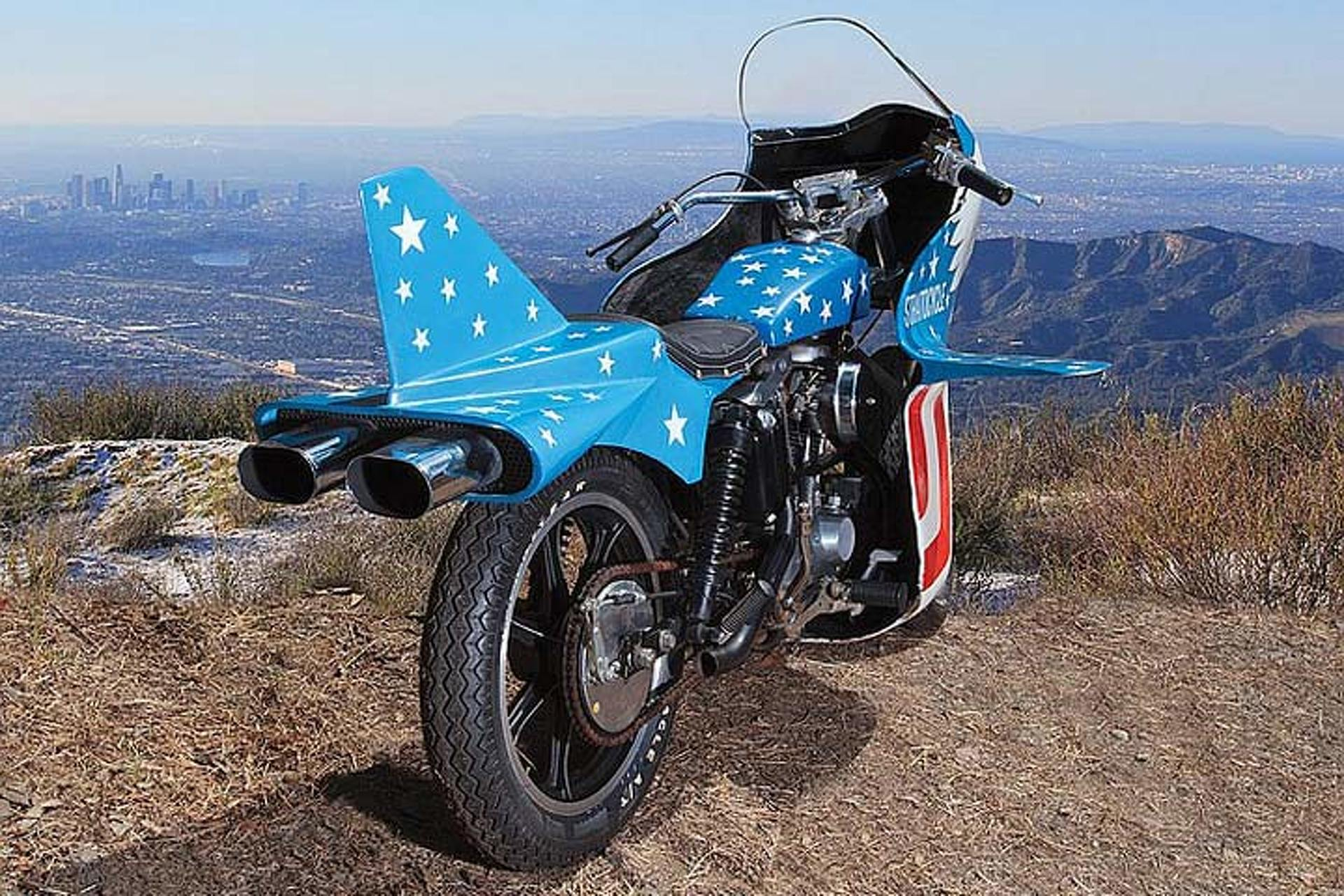 Famous Evel Knievel Bike At Auction: The Rare Evel Knievel Stratocycle Goes To Auction, And It