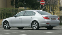 BMW 5 Series Long Wheel Base Spy Photo