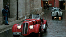 Mille Miglia 2004:BMW 328 on italian roads