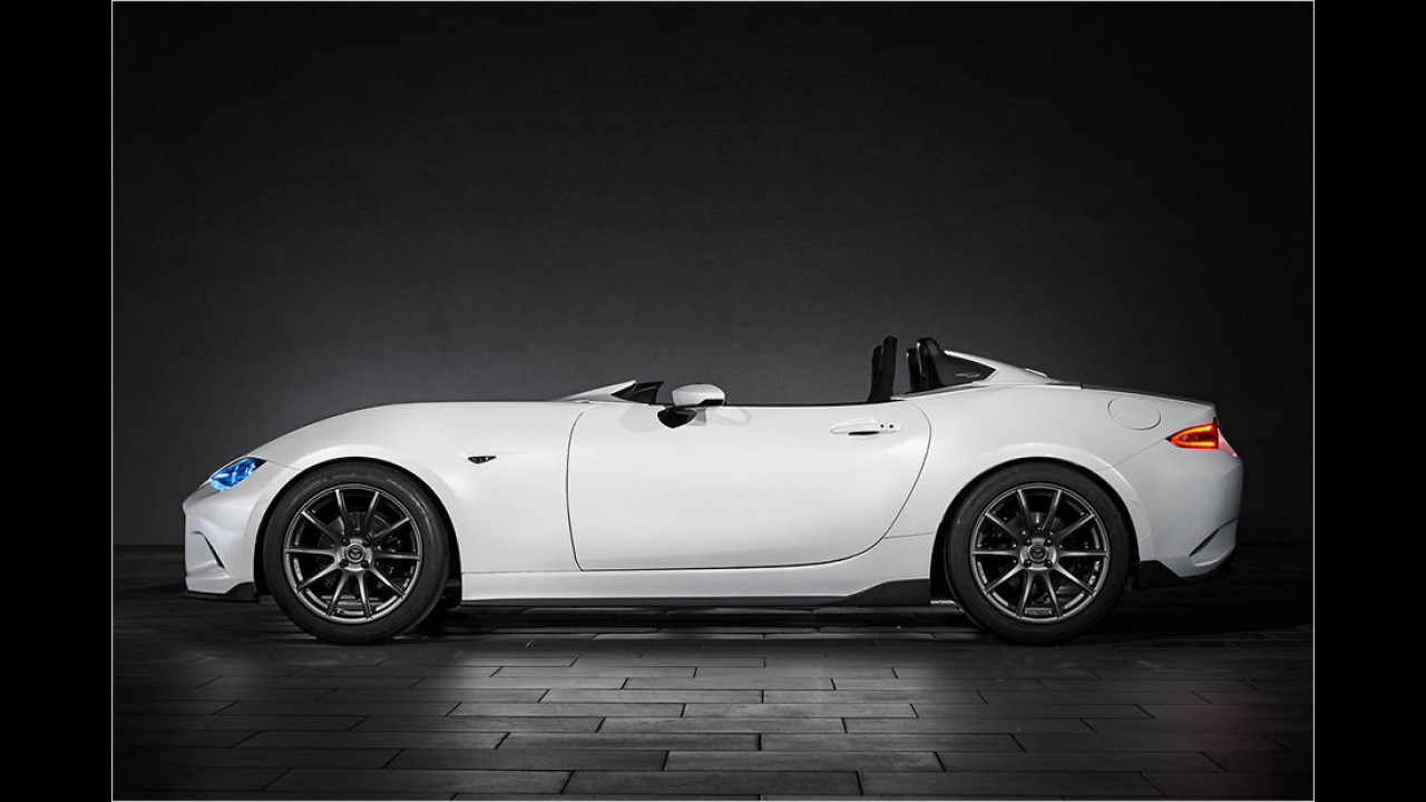 Mazda MX-5 Speedster Concept Evolution