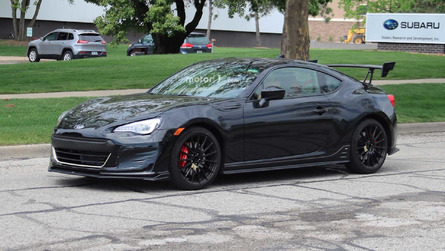 At Last! Subaru BRZ STI Prototype Caught Testing