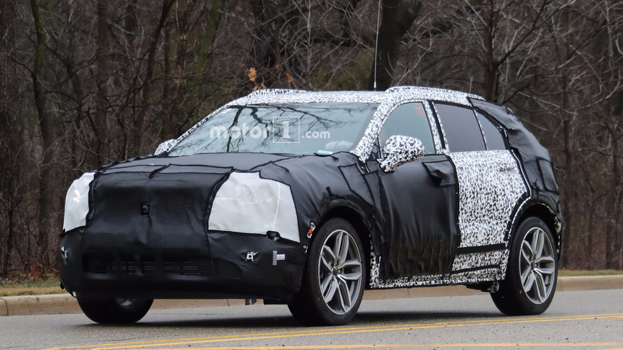 2019 Cadillac XT4 spy photos (part 3)