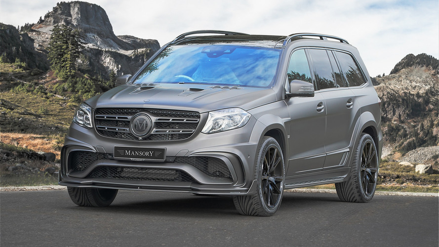 Mansory Finds A Way To Make The Mercedes-AMG GLS63 More Menacing