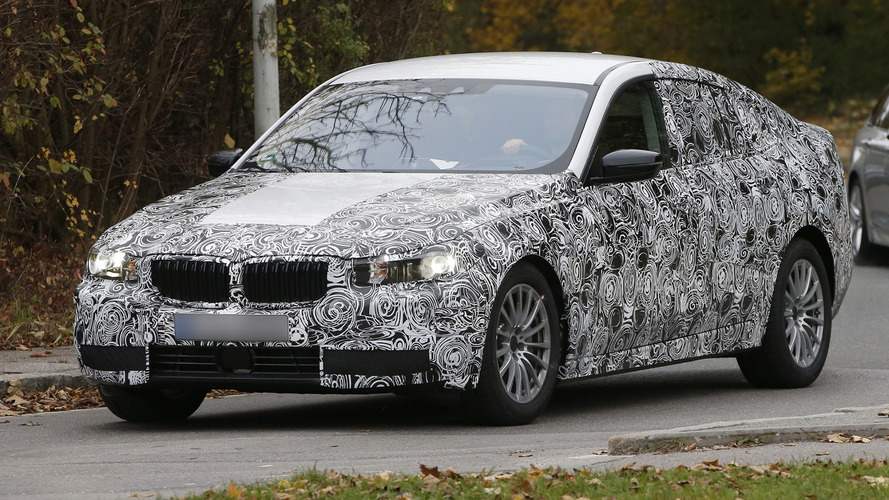 2017 bmw 5 series gt spied for the first time. Black Bedroom Furniture Sets. Home Design Ideas