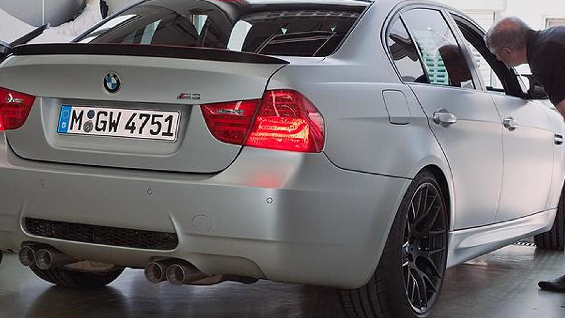 BMW M3 CRT first details released video