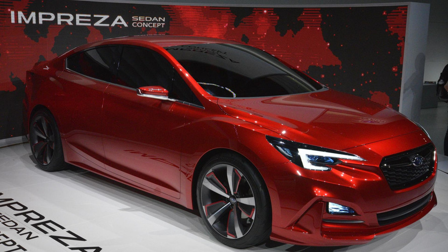Subaru Impreza Sedan concept previews the shape of things to come