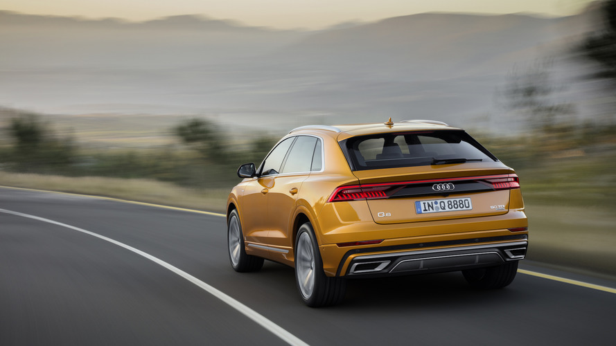 The new Audi Q8 coupe/SUV