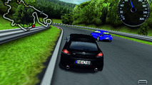 VW Scirocco R iPhone race game screenshot