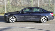 2011 Mercedes C-Class Sedan Facelift Spy Photo