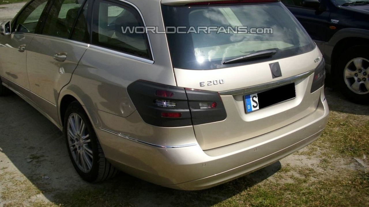 All Types mercedes e class estate 2010 : WCF Readers Catch 2010 Mercedes E-Class Wagon Almost Undisguised