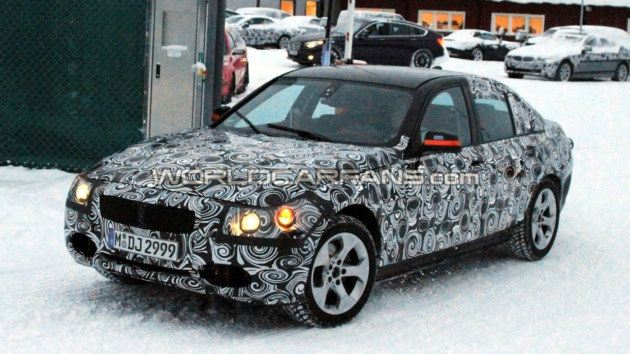2012 BMW 3-Series F30 prototype winter testing - 27.01.2010