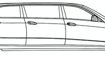 Mercedes E-Class Limo Design Drawing