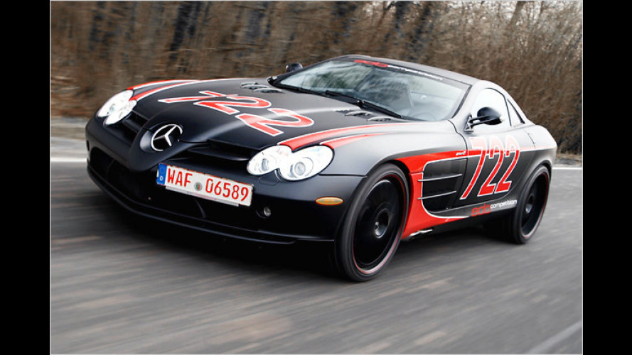 Black Arrow: Edo lässt den Mercedes SLR McLaren fliegen