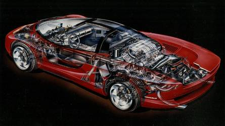 Mid-Engined Corvette Indy Concept Cutaway Shows What Could've Been