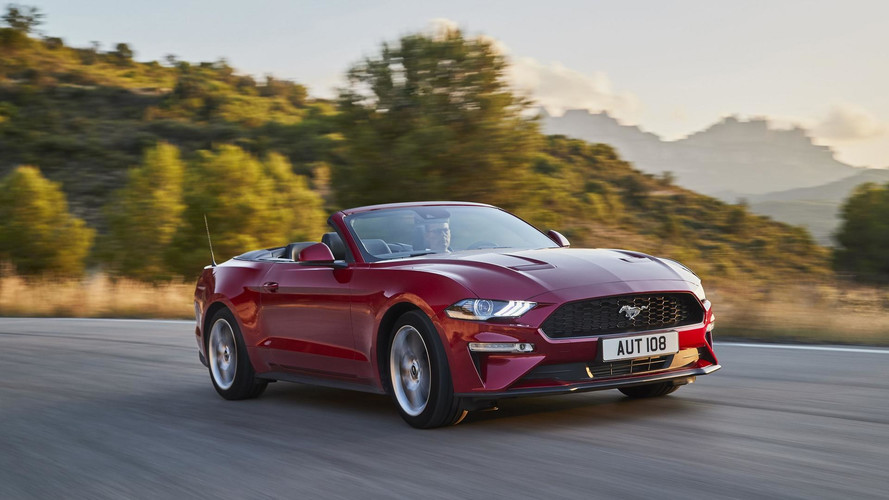 Ford Mustang 2018 (Europa)