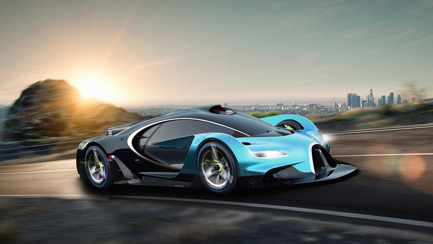 Bugatti Rendering Imagines A Race-Ready Hypercar Of The Future