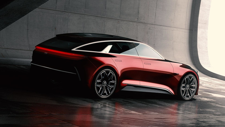 Stylish Kia Concept Teased Ahead Of Frankfurt
