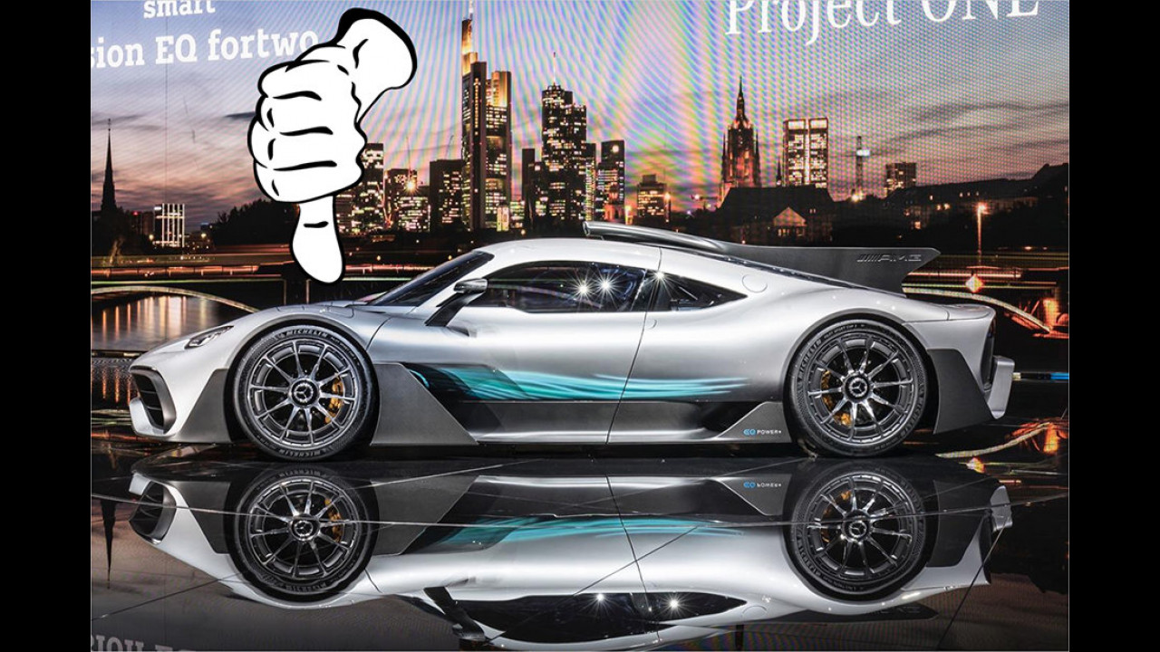 Roland Hildebrandt – Flop: Mercedes-AMG Project One
