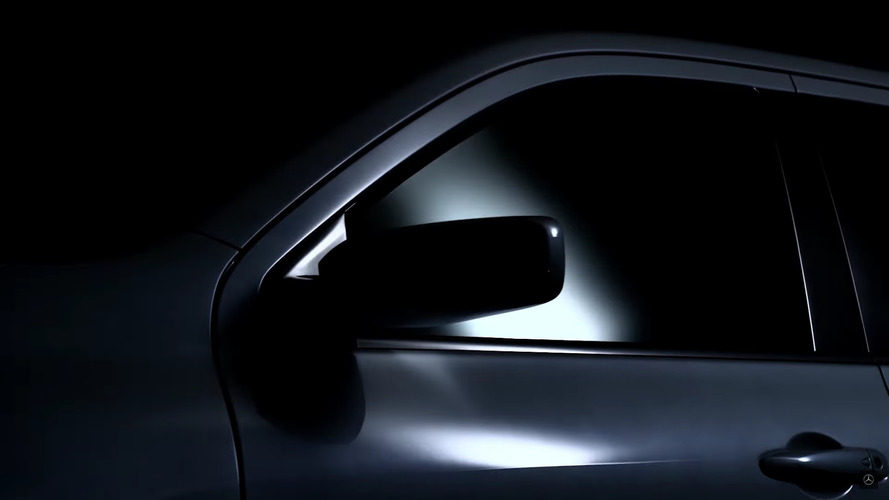 Latest Mercedes pickup concept teaser looks sleek and sexy, not rugged