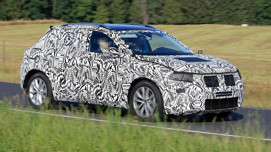VW Polo-based SUV spotted with production body