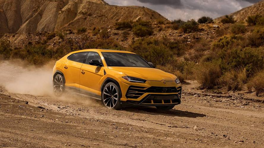 Watch And Listen As The Lamboghini Urus Takes To The Street