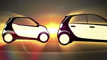2015 Smart ForTwo and ForFour teaser