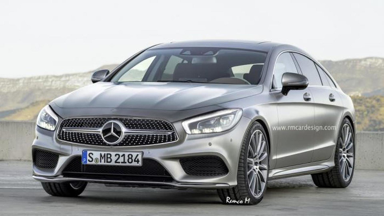 Third generation mercedes benz cls speculatively rendered for 2017 mercedes benz cls class msrp