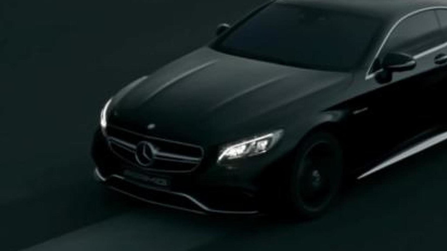 Mercedes-Benz shows off sinister black S63 AMG Coupe in new ad [video]