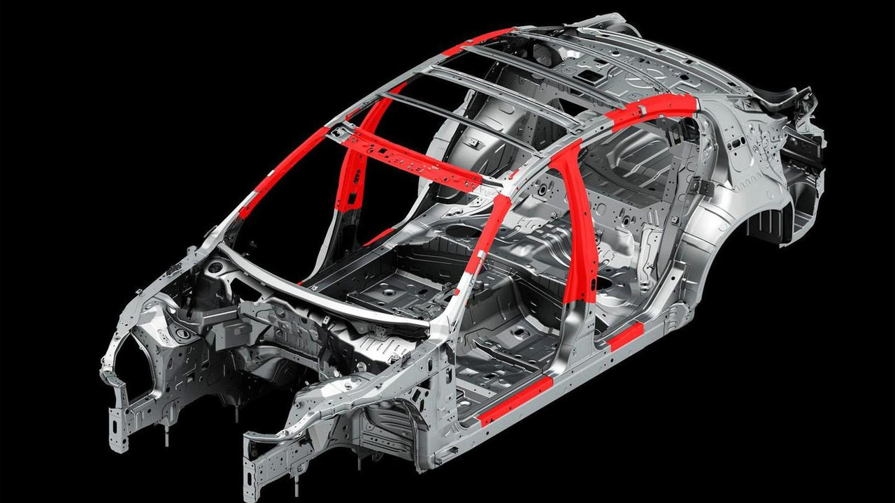 Nissan High Tensile Strength Steel mockup 15.3.2013