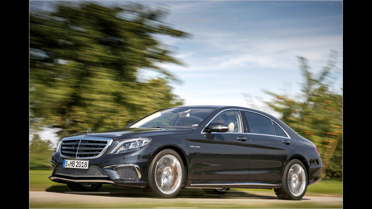 Mercedes S 65 AMG: 630 PS