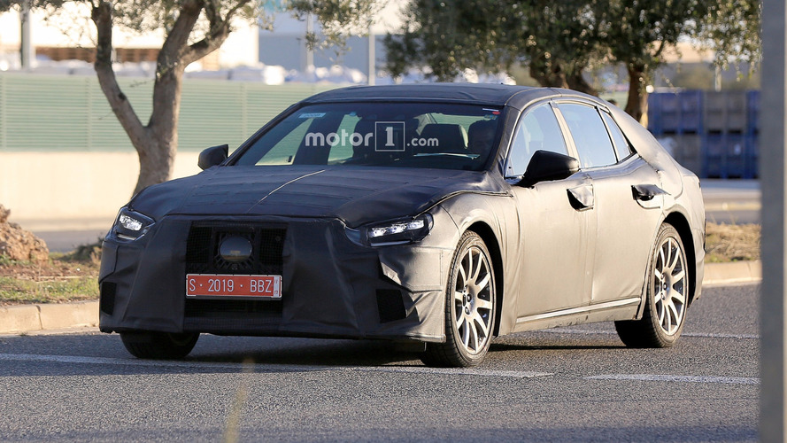 Best spy shots yet of the all-new Lexus LS