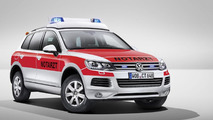 Volkswagen shows off four models for RETTmobil 2014