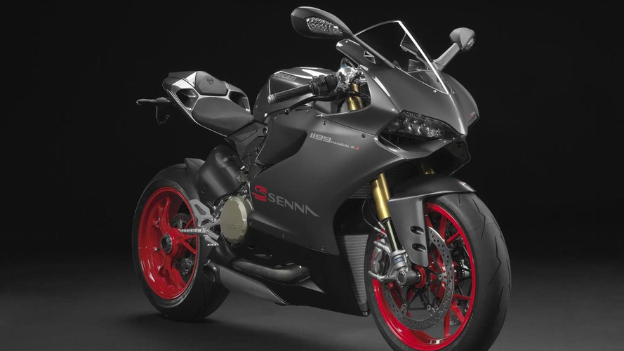 Ducati honors Senna with Brazil-only 1199 Panigale S special edition