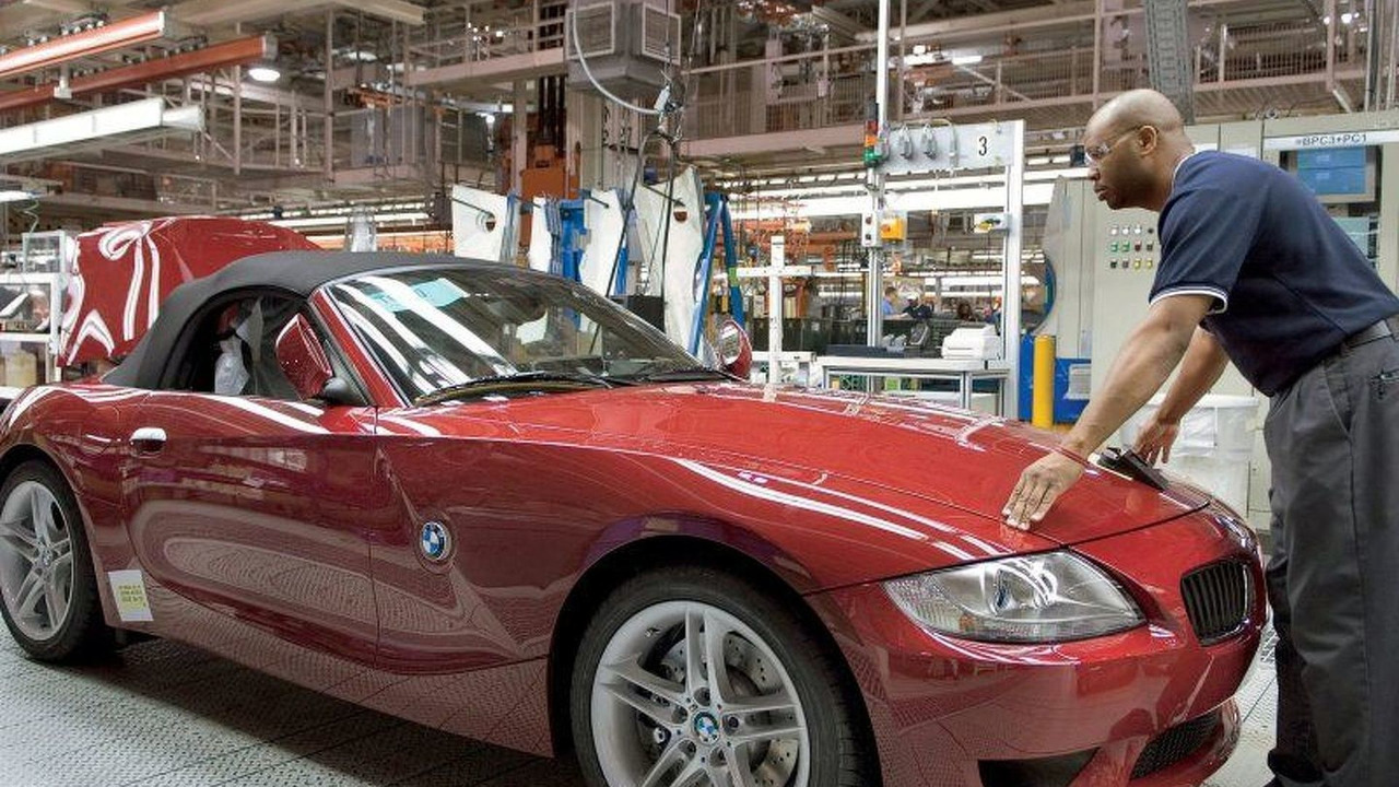 BMW Z4 Roadster production