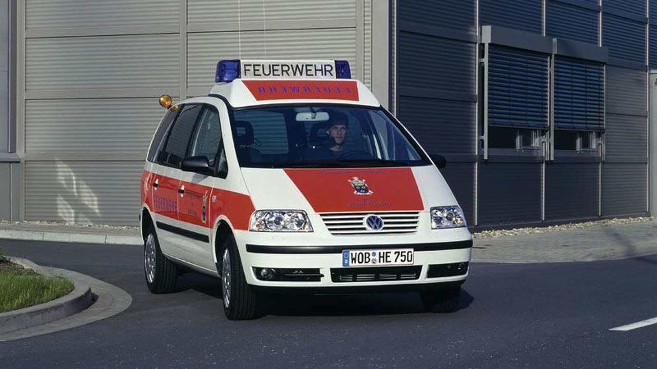 Volkswagen Sharan emergency ambulance