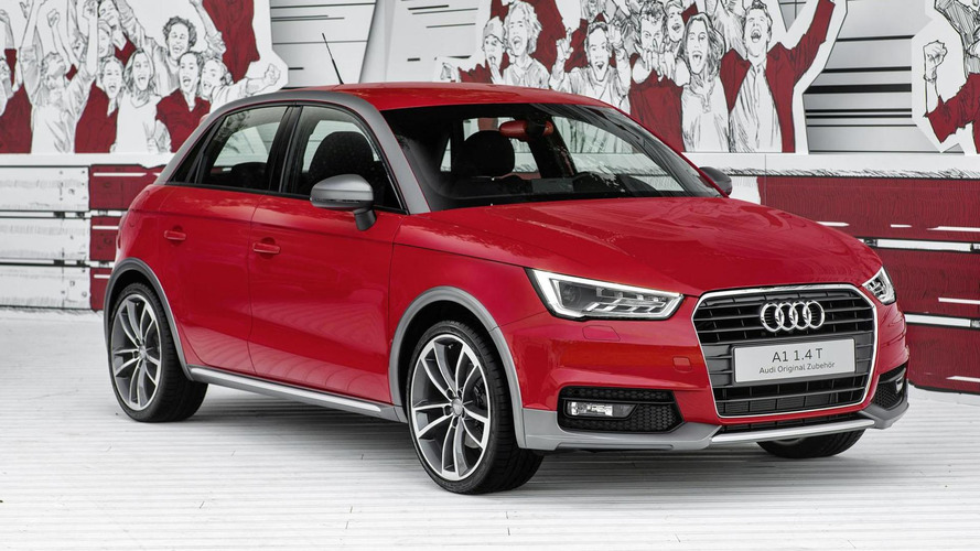 Audi A1 Active package arrives at Wörthersee